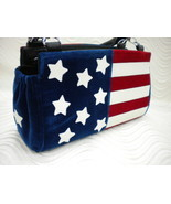 Patriotic Liberty Flag Handmade Magnetic Shell for Classic Base Bag Shel... - $59.99