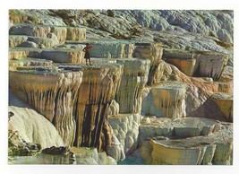 Turkey Pamukkale Travertine Calcium Rock Formations Vtg Postcard 4X6 - $5.69