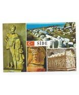 Turkey Side Museum Multiview Hercules Greek Artifact Vtg Postcard 4X6 - $5.69