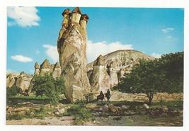 Turkey Avanos Zelve Fairy Chimneys Rock Formations Vtg Postcard 4X6 - $6.99