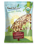 Food To Live® CERTIFIED ORGANIC BRAZIL NUTS (Raw, No Shell) (8 lbs) - $51.49
