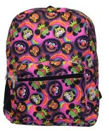 """The Muppets 16"""" Backpack Faces Kermit Ms Piggy Animal [Toy] - $18.61"""