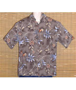 CAMPIA MODA Hawaiian Shirt Brown Medium - $21.95