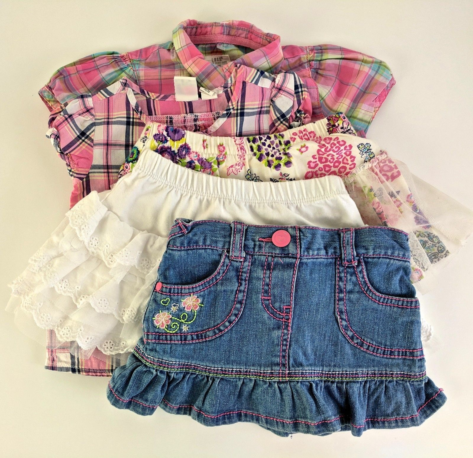 9fbf0aec501c 5 Baby Girl's Clothes Lot 6 - 24 mos. and 50 similar items. 57