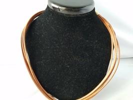 Roman Women's Signed Fashion Necklace Choker Stone Pendant & Matching Ea... - $37.19