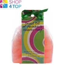 Pocket Full Of Rainbows Wave Shower Soap Bomb Cosmetics Kukui Nut Lavender Oils - $6.82