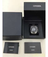 Citizen Solar Radio Wave Satellite 021301 Cc2006 53E Quartz Analog Watch - $771.63