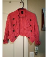 XOXO GIRLS JACKET  SIZE L  MSRP $56  MACY'S--PINK-- -FREE SHIP--NEW - $29.88