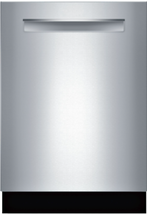 """Bosch SHPM78Z55N 800 Series 24"""" Fully Integrated Dishwasher in Stainless - $791.95"""