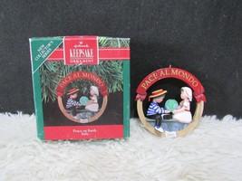 1991 Peace on Earth Italy, Hallmark Keepsake Christmas Tree Ornament - $4.95