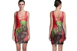 hulk red image Bodycon Dress - $21.99+