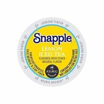 Snapple Lemon Iced Tea, 88 Count K Cups, Free Shipping - $63.57