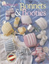 Bonnets & Booties Crochet Patterns Boys & Girls Crochet Patterns Tailore... - $8.00