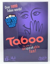 Hasbro Taboo Game of Unspeakable Fun  - $25.09