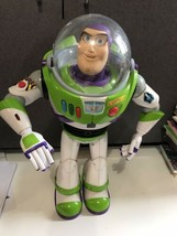HTF Disney Toy Story Buzz Lightyear Interactive Moving talking Action Fi... - $39.55