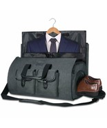 Bag Garment Bag for Travel Of Business With Compartments for Shoes Grey - $278.04
