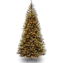Artificial Christmas Tree Prelit 7.5 ft Spruce ... - $221.23