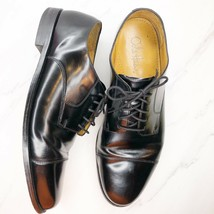 Cole Haan Caldwell Black Leather Oxford Cap Toe Dress Shoes 11.5 D 08330 - $33.84