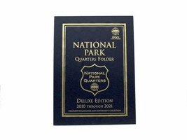 Whitman Coin Folder/Album, Deluxe Edition: National Park Quarters P&D - $9.99