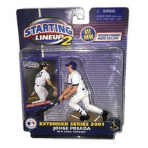 Jorge Posada New York Yankees MLB Starting Lineup 2 action figure NIB Ha... - $24.74