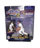 Jorge Posada New York Yankees MLB Starting Lineup 2 action figure NIB Ha... - $24.74