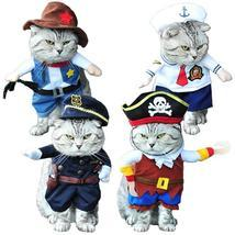 Cat Pirate/Sailor/Police/Cowboys Costume - €16,99 EUR