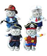 Cat Pirate/Sailor/Police/Cowboys Costume - $25.86 CAD