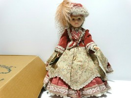 "1988 Robin Woods Tess of the D'Ursbervilles 14"" Vinyl Doll in Box - $14.52"