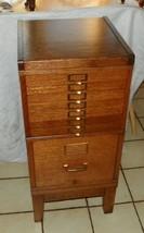Quartersawn Oak 2 Stack File Cabinet - $699.00