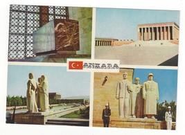 Turkey Ankara Anitkabir Multiview Mausoleum Ataturk Vntg Postcard 4X6 - $4.99