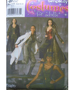 Simplicity 4962 CATWOMAN SORCERESS COSTUMES 6-8-10-12 OOP - $35.00