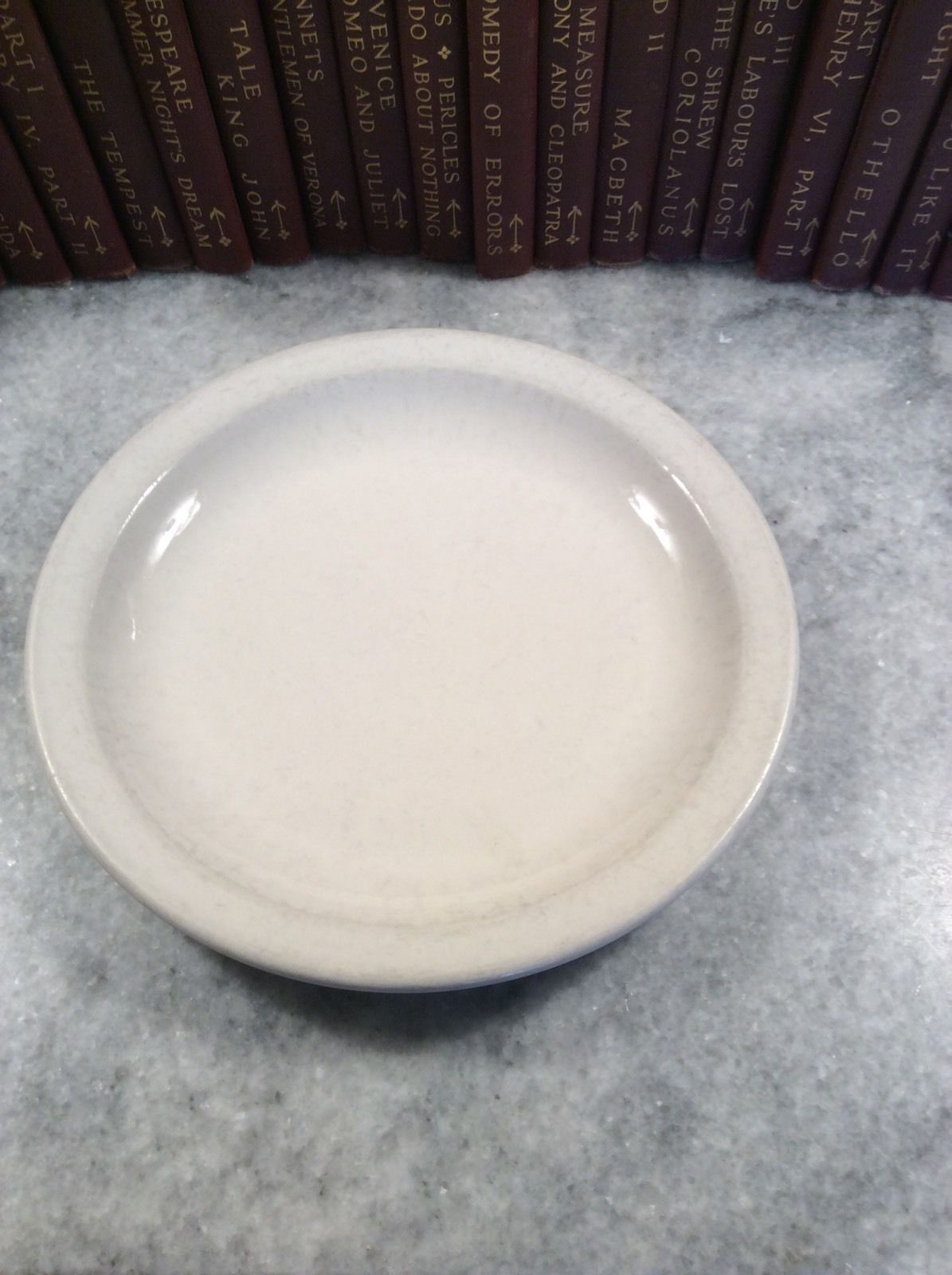 Primary image for Homer Laughlin Best China Restaurant Ware Bread Salad Dessert Plate Off White