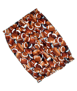 Dog Snood Small Footballs Brown Cotton Cavalier King Charles Spaniel Pup... - $9.50