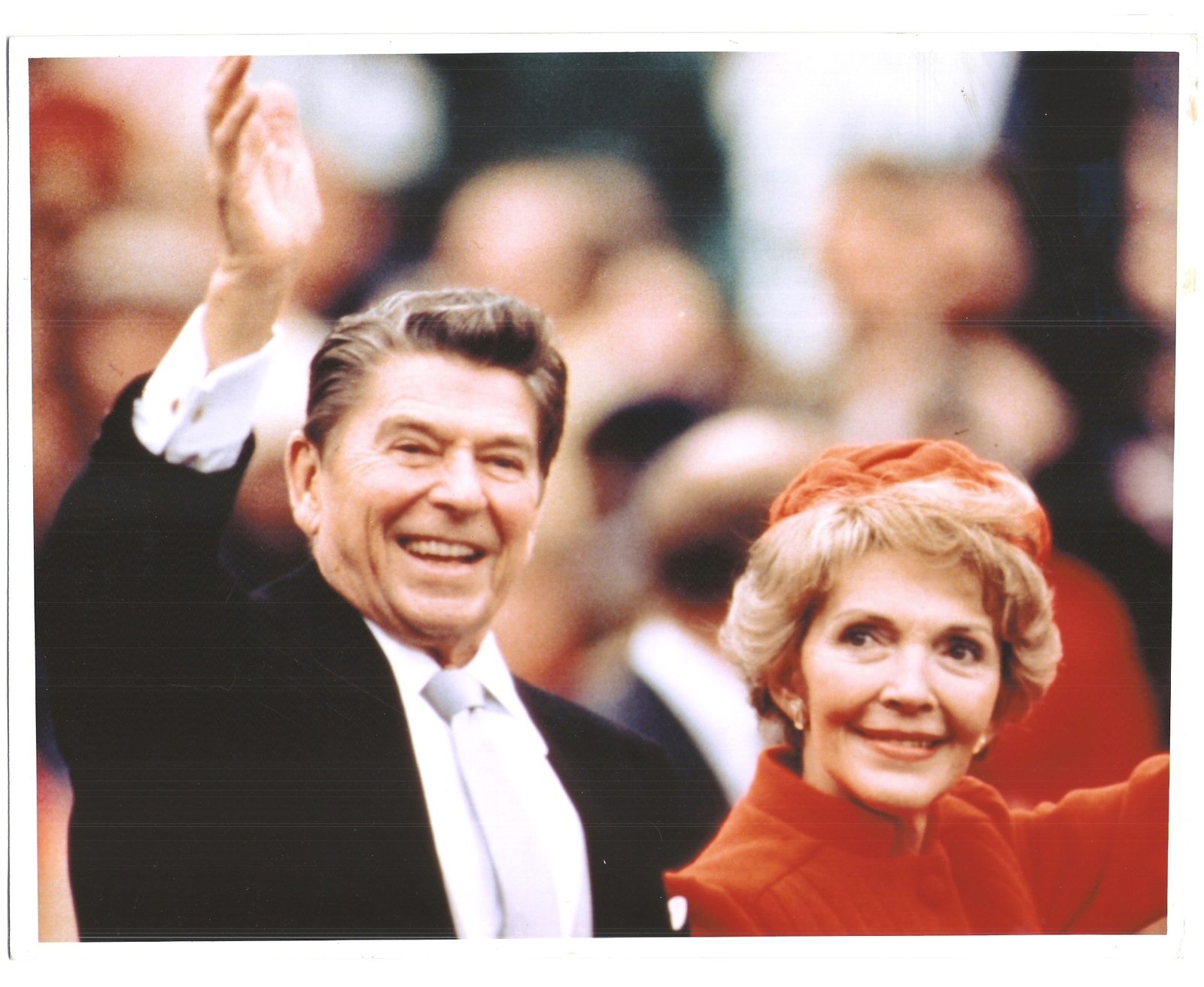 Primary image for Ronald and Nancy Reagan President Vintage 8X10 Color Political Memorabilia Photo