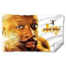 ISAAC HAYES JOY CONCORD MUSIC LICENSED ONE-SIDED FLEECE BLANKET THROW CM... - $31.95