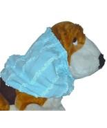 Dog Snood Blue Sparkle Poly Knit Ruffles Bloodhound Standard Poodle Sett... - $13.50