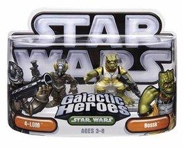 Star Wars Galactic Heroes 4-Lom & Bossk 2pk - $19.99