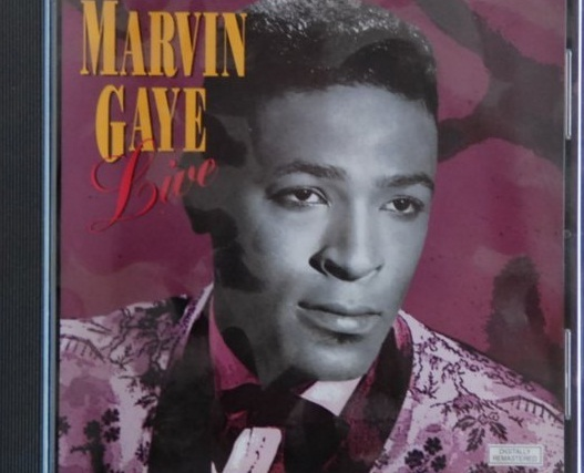 Primary image for Marvin Gaye: Live (used import CD)