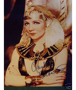 CLAUDETTE COLBERT (CLEOPATRA) AUTOGRAPH PHOTO - $148.50