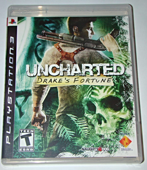 Primary image for Playstation 3 - UNCHARTED - DRAKE'S FORTUNE (Complete with Instructions)