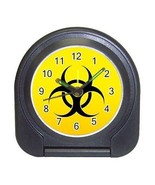 Biohazard Compact Travel Alarm Clock (Battery Included) - Biological Haz... - $9.94