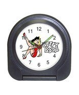 Betty Boop Compact Travel Alarm Clock (Battery ... - $9.94