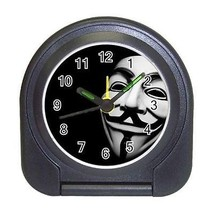Anonymous Compact Travel Alarm Clock (Battery Included) - We are Legion - $9.94