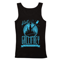 "Men's Doctor Who ""Visit Gallifrey"" Tank Top - $23.00+"