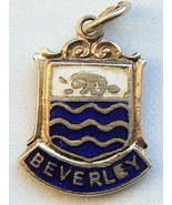 BEVERLEY, ENGLAND - Silver Enamel Travel Shield... - $29.95