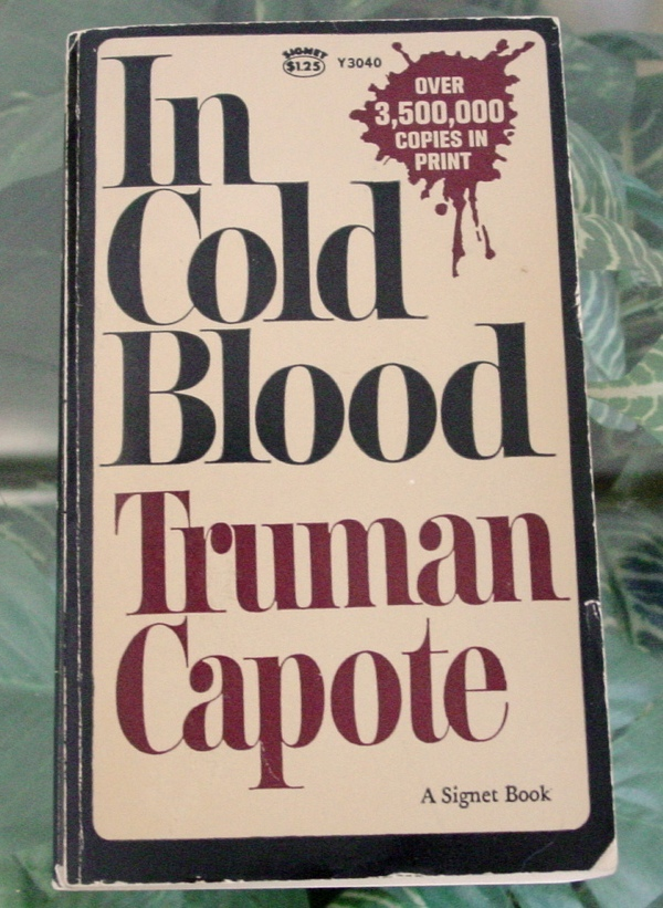 Primary image for Truman Capote IN COLD BLOOD Vintage 1967 Signet-True Crime Vintage Paperback