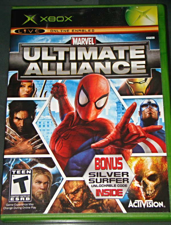 Primary image for XBOX - ACTIVISION - MARVEL ULTIMATE ALLIANCE (Complete with Instructions)