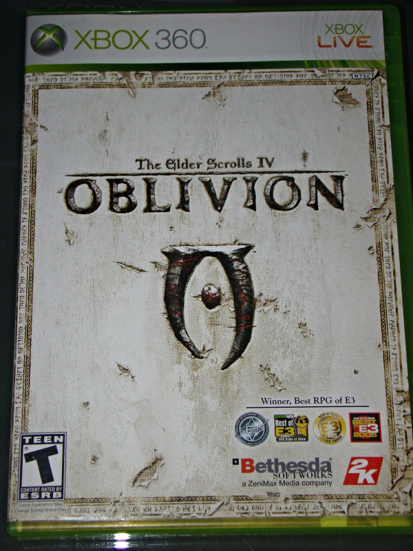 Primary image for XBOX 360 - The Elder Scrolls IV OBLIVION (Complete with Instructions)