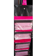 Mary Kay  Vintage Roll Up Organizer - Vinyl outside - easy to clean - $21.50