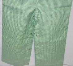 Ellie O Gingham Full Lined Longall Size 12 Months Color Green image 6